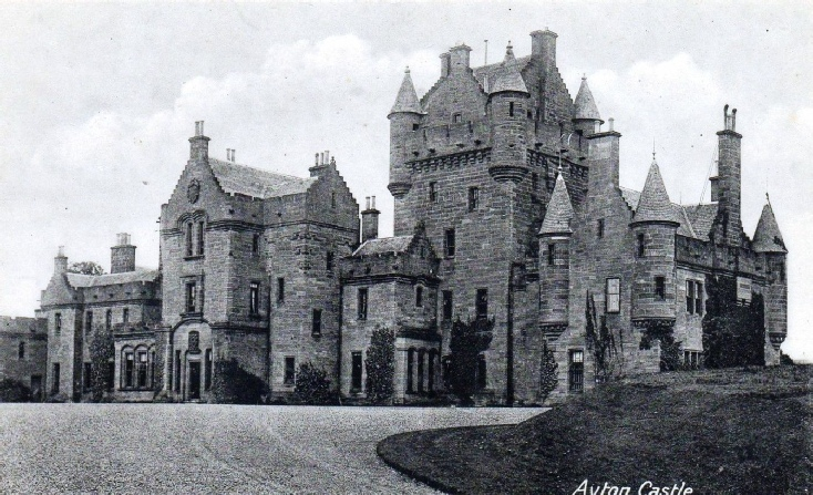 Ayton Castle date unknown
