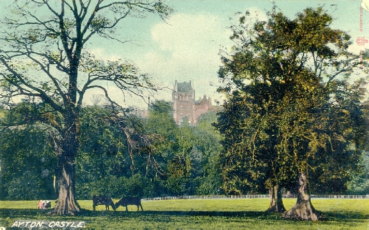 View of Ayton Castle date unknown