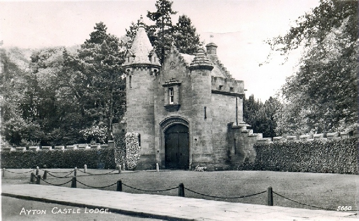 Ayton Castle South Lodge date unknown